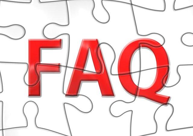 FAQ puzzle pieces